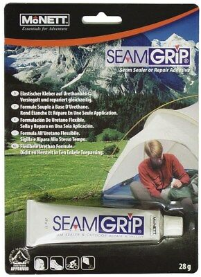 McNett SEAMGRIP  Outdoor Repair Adhesive Seam grip Sealer 28g tents bags coats