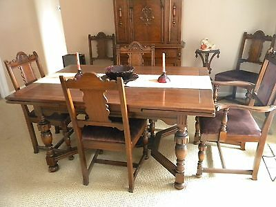 Sharp Antique Berkey & Gay 10 Pieice Dining Room Set