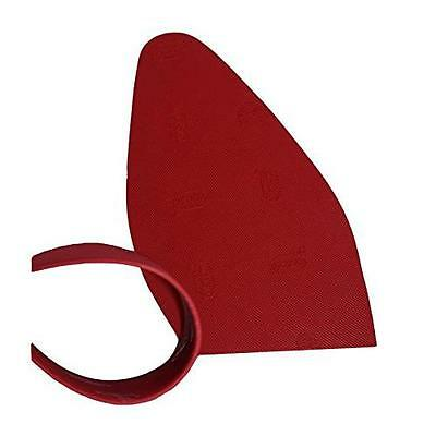 Vibram Red Rubber Soles Replacement, 1mm Thin (1 Pair) New