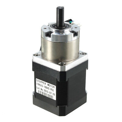 New Extruder Gear Stepper Motor Ratio 5:1 Planetary Gearbox Nema 17 Step Motor