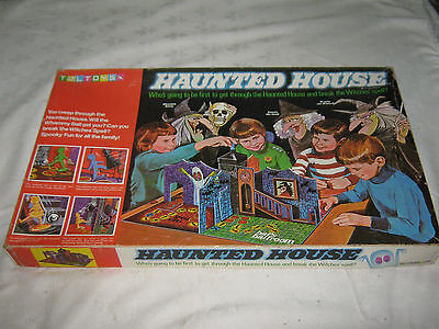 A Vintage 1970's Australian Toltoy's Version of Haunted House 3D Board Game