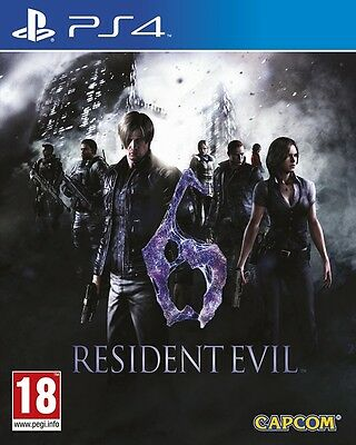 Resident Evil 6 HD Remake (Playstation 4) NEW & Sealed