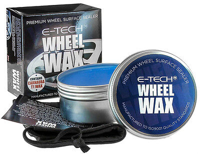 E-Tech Carnuba T1 Alloy Wheel Surface Sealer Premium Cleaning Valet Superior Wax