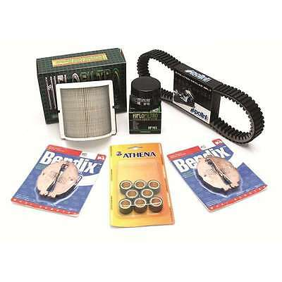 Pack révision variation/filtration/plaquettes Yamaha T-MAX 530   NEUF