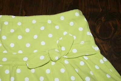 Girl's spring GYMBOREE Polka Dot Skirt/Skort size 8