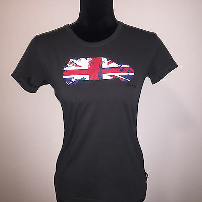 Euc Womens Mini Cooper Car Cotton Elastane Short Sleeve T Shirt Top Small