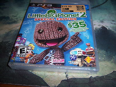 LittleBigPlanet 2 -- Special Edition (Sony PlayStation 3, 2011) Brand New Sealed