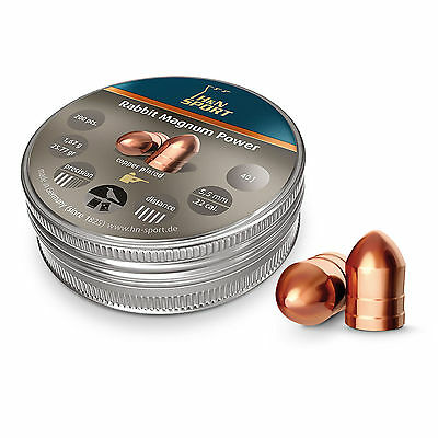 H&N Rabbit Magnum Power Copper Coated .22 5.50mm Air Rifle Gun Pellets 200
