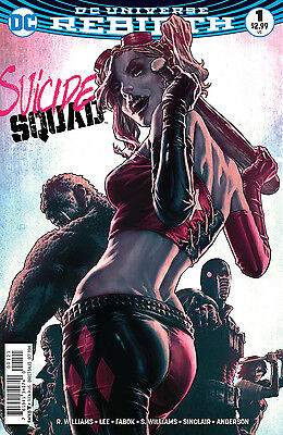 SUICIDE SQUAD #1, VARIANT, New, First Print, DC REBIRTH (2016)