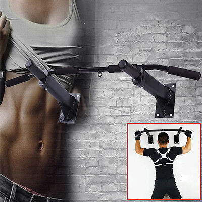 Optional Portable Bar Door Pull Up Doorway Gym Exercise Workout Fitness Trainer