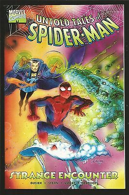 Untold Tales of Spider-Man: Strange Encounters #1 (1998, Marvel) Prestige, bn4