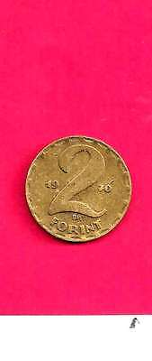 Hungary Hungarian Km591 1970 Vf-Very Nice Old 2 Forint Coin