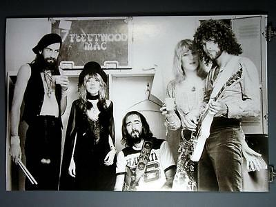 "Fleetwood Mac, Stevie Nicks, Rumours Black & White 24x36"" Poster Buckingham"