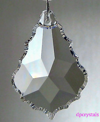 Sun catcher Hanging Crystal Drop Rainbow Prism Feng Shui Mobile 76x53mm Large