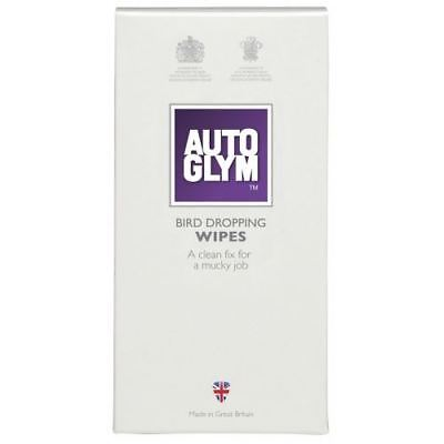 AutoGlym Bird Dropping Wipes Secure Package for Clean Cars All Paintworks