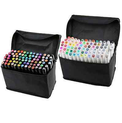 30-80 Colors Artist Dual Head Sketch Copic Markers Set For School Drawing Sketch
