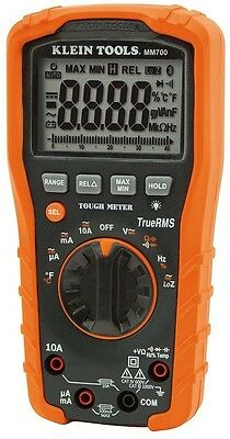 Digital Multimeter True RMS Auto-Ranging Tester 1000V AC/DC Voltage Current