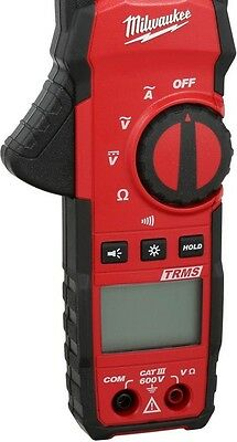 Digital Clamp Meter 400 Amp AC True-RMS Electrical Current Tester Milwaukee