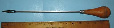 "Vintage Stainless 10 1/2"" Trussing Needle w/ Handle for Kitchen Use - Germany"