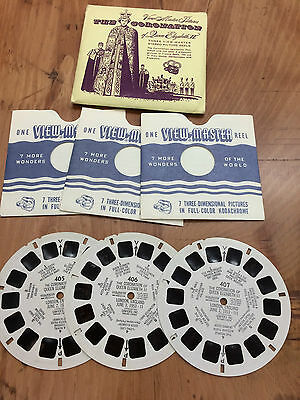 The Coronation 1953 - 3 Reels View-Master
