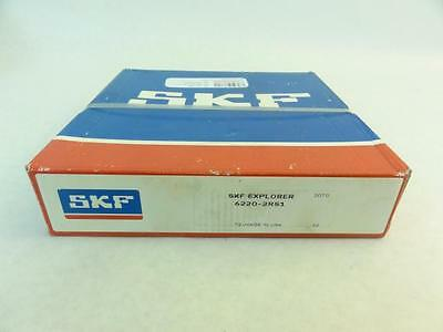166434 New-Unopened, SKF 6220-2RS1 Ball Bearing, 100mm ID, 180mm OD, 34mm Width