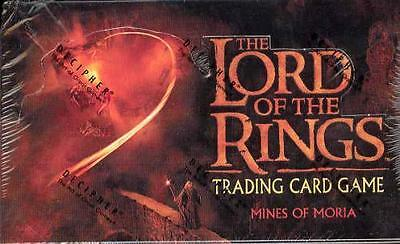 LOTR Lord of the Rings tcg sealed MINES OF MORIA booster box 36 packs