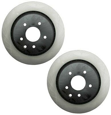 For Front Set of 2 Disc Brake Rotors OPparts 405 24 009 for Infiniti FX35 05-10