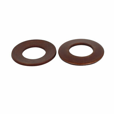 50mm Outer Dia 25.4mm Inner Diameter 3mm Thickness Belleville Spring Washer 2pcs
