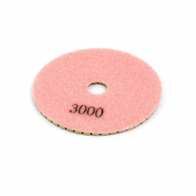 Grit 3000 4-inch Diamond Wet Polishing Pad for Granite Concrete Marble