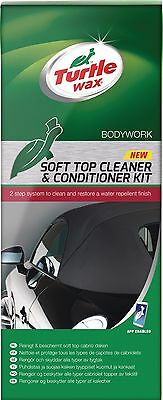 Turtle Wax Car Soft Top & Cabrio Roof Cleaner + Conditioner Canopies Canvas