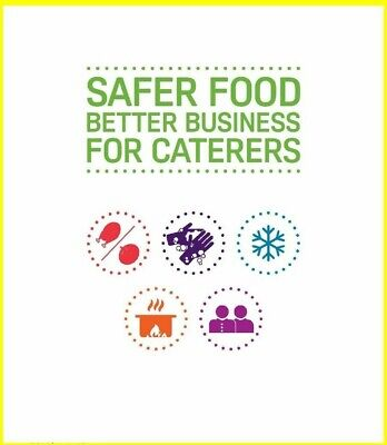 Safer Food Better Business For Caterers Pack SFBB  2017 - Fully SFA Compliant