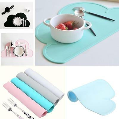 Silicone Tableware Dining Pad Kitchen Placemat Insulation Kid Table Coasters BC