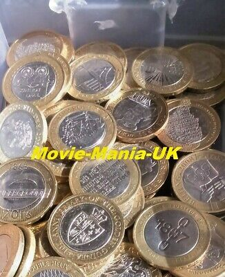 Rare UK £2(Two Pound) 50p,Olympic Coins, £1, & £5 for Royal Mint albums