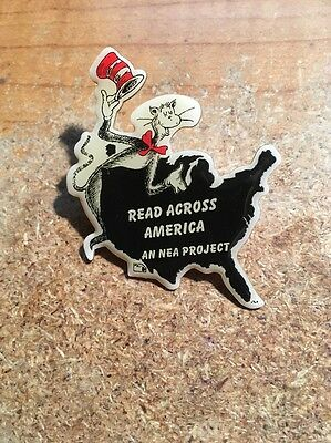 Cat In The Hat Dr Sues Read Across  America NEA Project PIN