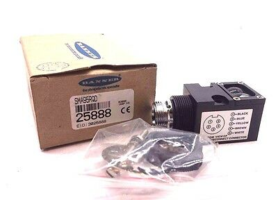 New Banner Engineering 25888 Value Beam Receiver Sma95Rqd