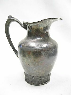Antique Silver Plated Water Pitcher Pairpoint Mfg Co.