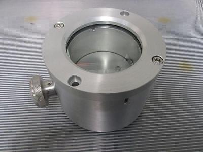 Ferrofluid Vacuum Chamber With Observation Vent Stainless Steel