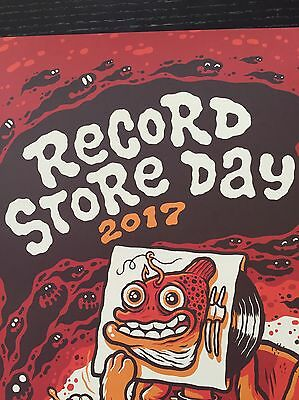 "DOGFISH HEAD CRAFT BREWERY ""Record Store Day"" 2017 Michael Hacker POSTER Art"