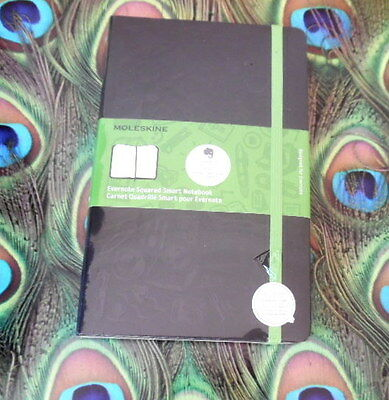 "Moleskine Evernote Smart Notebook Ruled (5"" x 8.25"")  BRAND NEW"
