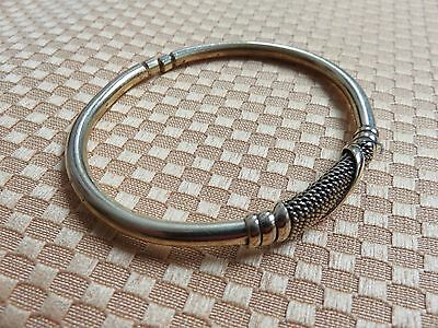 KENYA African Ethnic Jewelry NEW DESIGN BRASS PLATED WIRE BRACELET A