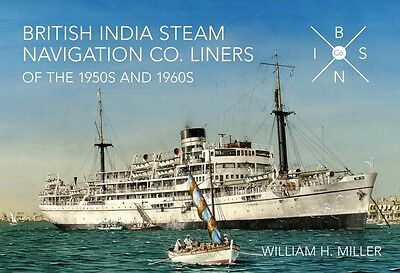 British India Steam Navigation Co. Liners of the 1950's and 1960'. 9781445635910