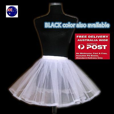 Women Girl Under Skirt Dress Petticoat Insert  Mesh Net Underskirt Costume TUTU