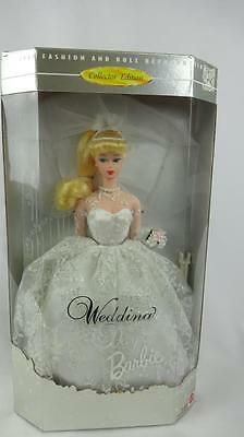 Collector Edition Wedding Day Barbie 1996  Blonde- Reproduction  #17119 - MIB