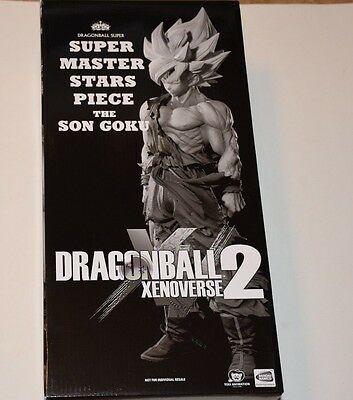 New Dragonball Xenoverse 2 The Son Goku Super Master Stars Piece Figure Statue