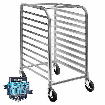 Commercial Kitchen 10 Sheet Bun Pan Bakery Rack