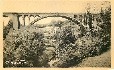 Cp Luxembourg Pont Adolphe