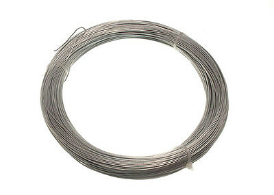 Galvanised Garden Fence Wire - 0.9 Mm 100 Metres Single Roll 500G In Weight