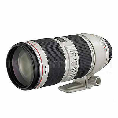 Canon EF 70-200mm f/2.8L IS II USM Lens+Gift+5Wty (Ship From EU)