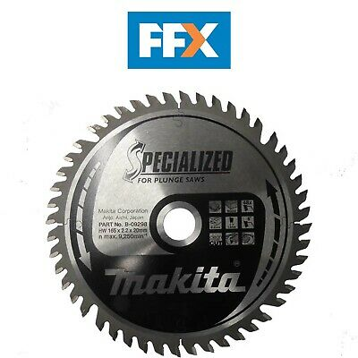 Makita B-09298 165mm x 20mm x 48T Specialized Plunge Saw Blade