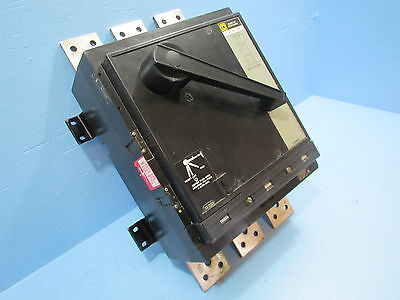 Square D PAF2036 2000 Amp Breaker w/ 2000A Trip  Series 4  Type  PAL  PAF-2036